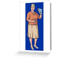 ARCHER - Pam Poovey Greeting Card