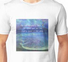 Rumi inspirational ocean quote Unisex T-Shirt