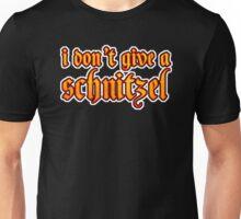 Funny I Don't Give A Schnitzel Wordplay Unisex T-Shirt