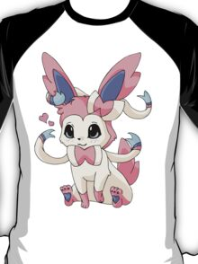 Cutesy Sylveon Pokemon T-Shirt