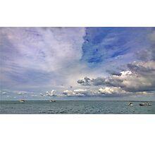 seas n skies Photographic Print