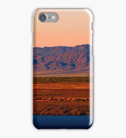 Port Augusta - Evening Train iPhone Case/Skin