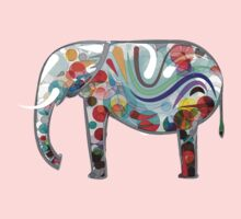 Abstract Elephant Kids Clothes