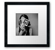 The Shy Photographer Framed Print