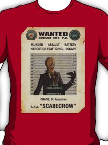 Scarecrow - Gotham's Most Wanted T-Shirt