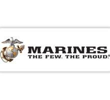 the few, the proud Sticker