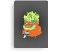 Undercover Monster Canvas Print