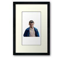 Stranger things Eleven Framed Print