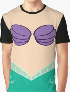 Mermaid Body  Graphic T-Shirt