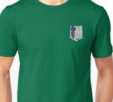 Attack on Titan Scout Regiment Wings of Freedom Symbol Design Unisex T-Shirt