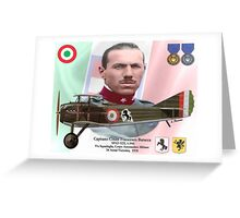 Capitano Count Francesco Baracca Greeting Card