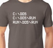 RUN DOS RUN Unisex T-Shirt