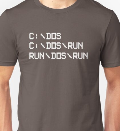 RUN DOS RUN Unisex T-Shirt