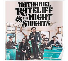 PREMIUM NATHANIEL RATELIFF & THE NIGHT SWEATS IN BUS PHOTO Poster