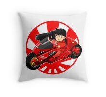 AKIRA - 'Kaneda and Bike' Throw Pillow