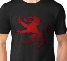 Royal Werewolf Red Clan Symbol Unisex T-Shirt