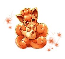Vulpix Photographic Print