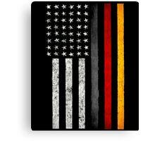 German American Flag Canvas Print