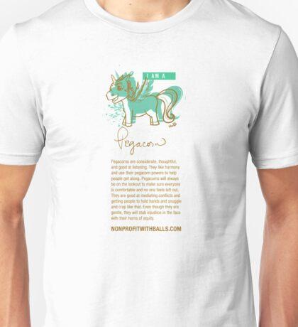 I AM A PEGACORN (vertical) T-Shirt