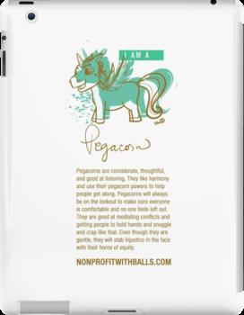 I AM A PEGACORN (vertical) by nonprofitwballs