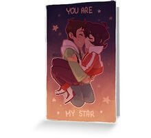 You are my star Greeting Card