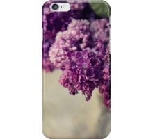 Close up of fresh lilacs iPhone Case/Skin