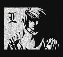 Death Note - L Lawliet by Kickmes0n
