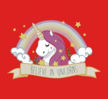 Believe in unicorns Baby Tee