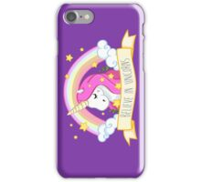 Believe in unicorns iPhone Case/Skin