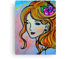 Pricilla Canvas Print