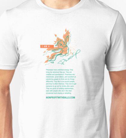 I AM A PHOENIX (vertical) T-Shirt