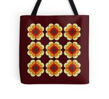 Retro Marigold Tote Bag
