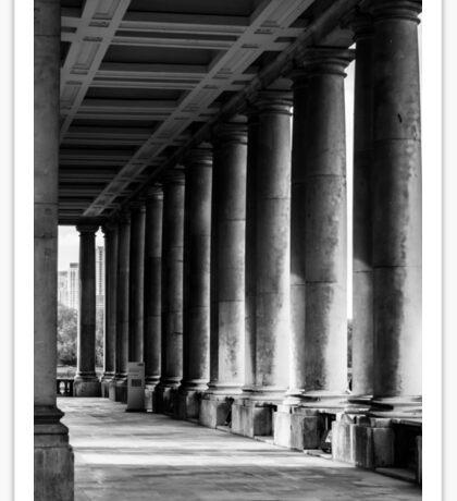 Portico At Greenwich Sticker