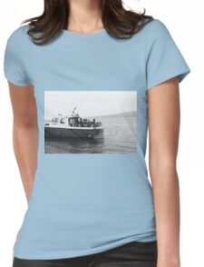 Sailing off Skye II Womens Fitted T-Shirt