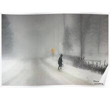 Headed Home:20 inches and Still Coming Down Poster