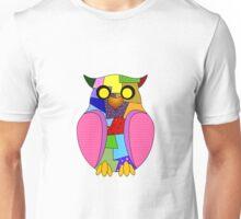 Little patchwork owl Unisex T-Shirt