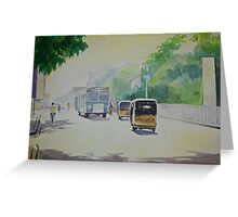 Auto - Indian Taxi Greeting Card