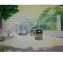 Auto - Indian Taxi Photographic Print