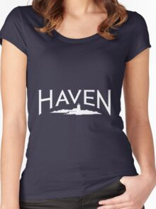 Haven Maine Syfy Logo Women's Fitted Scoop T-Shirt