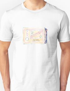Vintage Matchbox (Mint Green) Unisex T-Shirt