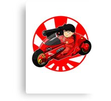 AKIRA - 'Kaneda and Bike' Canvas Print