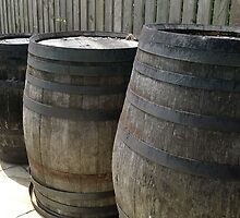 Whiskey Barrels by IamJane--