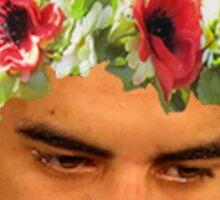 Flower Crown Marcus Mariota Sticker