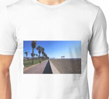 THE BEACH PATH GOES ON FOREVER. Unisex T-Shirt