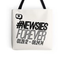#newsiesforever (USA date format version) Tote Bag