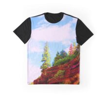 Rainbow trees Graphic T-Shirt