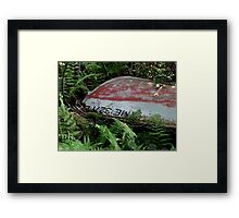 Maine by boat Framed Print