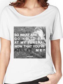 LEMONADE SCRIPTS.  Women's Relaxed Fit T-Shirt