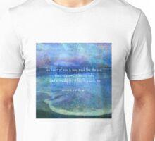 Vincent Van Gogh sea ocean  Quote Unisex T-Shirt