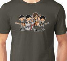 the beatles (outline) Unisex T-Shirt